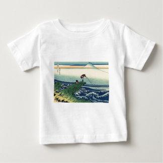 Kajikazawa in Kai Province by Katsushika Hokusai Baby T-Shirt