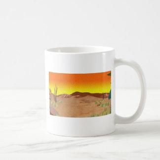 Kalahari Desert Basic White Mug