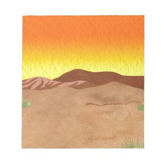 Kalahari Desert Memo Notepad