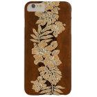 Kalaheo Hawaiian Hibiscus Tapa Faux Koa Wood Barely There iPhone 6 Plus Case