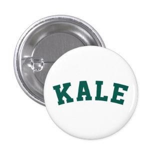 Kale Vegan Humor Button 1 Inch Round Button