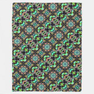 """""""Kaleidoscope colorful Fleece blanket"""""""