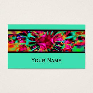 Kaleidoscope Fractal - Apophysis I + your text Business Card