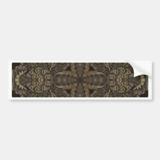 Kaleidoscope Kreations Black Tapestry 2 Bumper Sticker