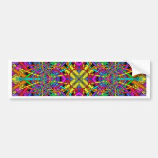 Kaleidoscope Kreations Fun Fractals No 4 Bumper Sticker