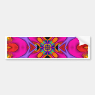 Kaleidoscope Kreations Neon No 3 Bumper Sticker