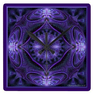 Kaleidoscope Kreations Purple Globe Clock