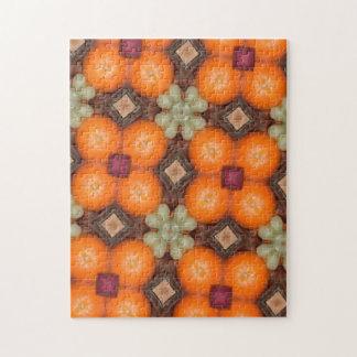 Kaleidoscope Oranges fruit Jigsaw Puzzle