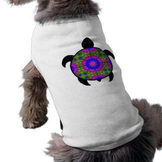 Kaleidoscopic Mandala Turtle Design Shirt
