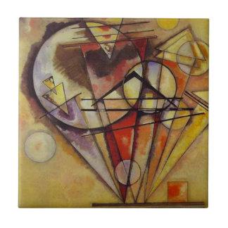 Kandinsky Abstract Circles Tile