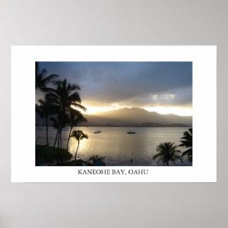 Kaneohe Bay, Oahu Poster