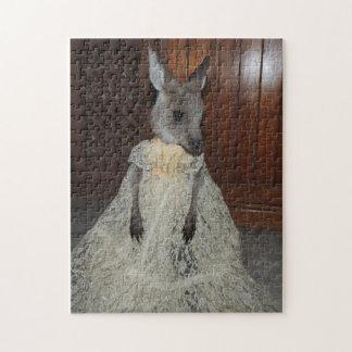 Kangaroo Joey puzzle