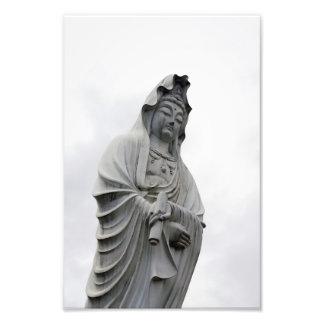 Kannon Statue of Takasaki Photo Art