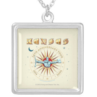 KANSAS - 30th Anniversary Silver Plated Necklace