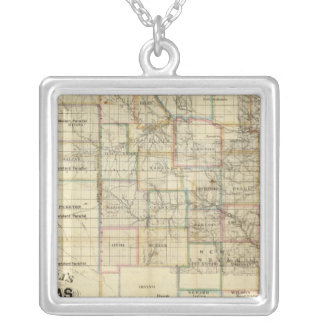 Kansas and The Gold Mines Silver Plated Necklace