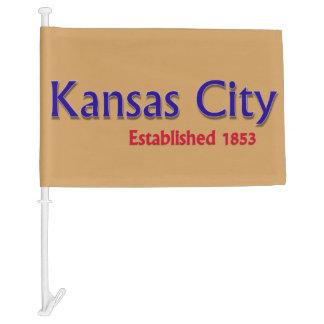 Kansas City Car Flag