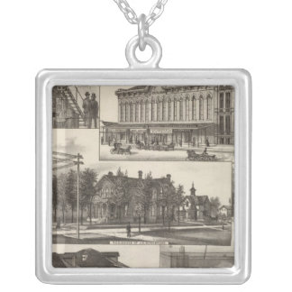 Kansas Industries Silver Plated Necklace