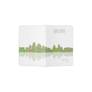 Kansas skyline passport holder