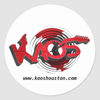 KAOS Band - sticker