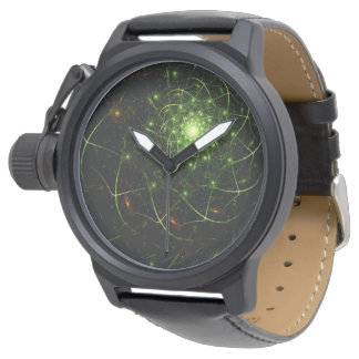 Kaos Entwined Flame Fractal Watch