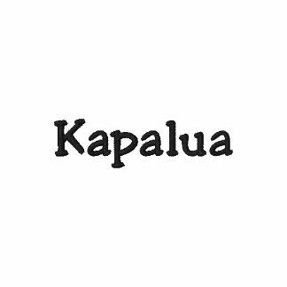 Kapalua Maui Hawaii Shirt !!! Embroidered Polo Shirts