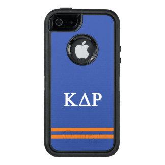 Kappa Delta Rho | Sport Stripe OtterBox Defender iPhone Case