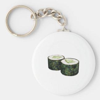 Kappa Maki Sushi Basic Round Button Key Ring