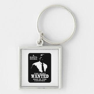 Kappa Sigma - The Most Wanted Key Ring