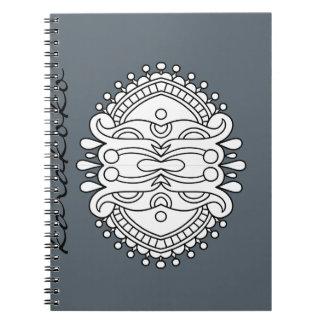 Karakoko Mandala Photo Notebook (80 Pages B&W)
