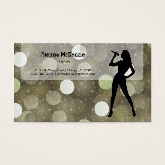 Karaoke Business Card