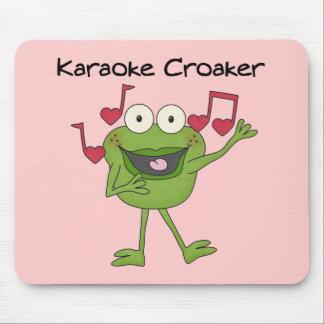 Karaoke Croaker Mouse Pad
