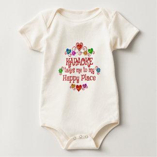 Karaoke Happy Place Baby Bodysuit