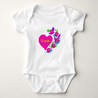Karaoke Heart Baby Bodysuit