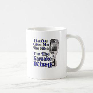 Karaoke King Coffee Mug