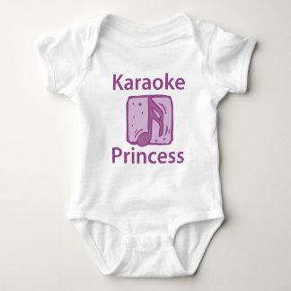 Karaoke Princess Baby Bodysuit