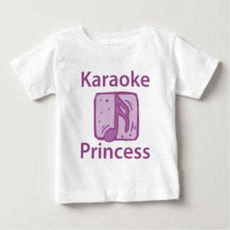Karaoke Princess Baby T-Shirt