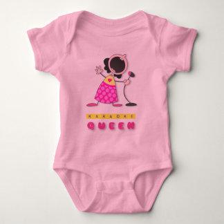 Karaoke Queen Baby Bodysuit