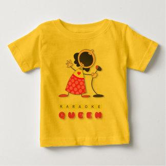 Karaoke Queen Baby T-Shirt
