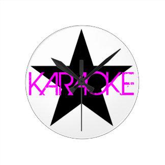 Karaoke Round Clock