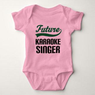 Karaoke Singer (Future) Baby Bodysuit