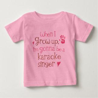 Karaoke Singer (Future) Infant Baby T-Shirt