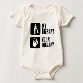 Karaoke therapy designs baby bodysuit