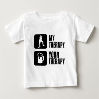 Karaoke therapy designs baby T-Shirt
