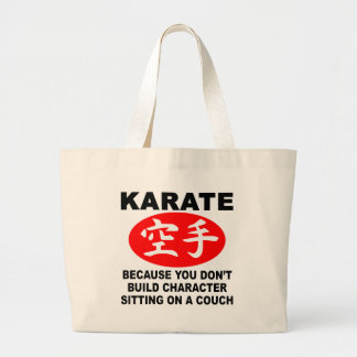 Karate Character Large Tote Bag