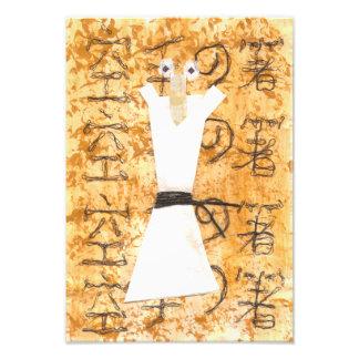 Karate Chopstick Poster Photo Art