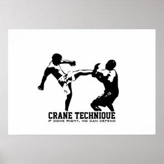 Karate - Crane Technique Print