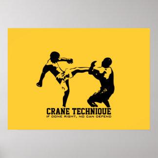 Karate - Crane Technique Posters