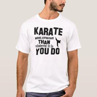 karate martial design T-Shirt