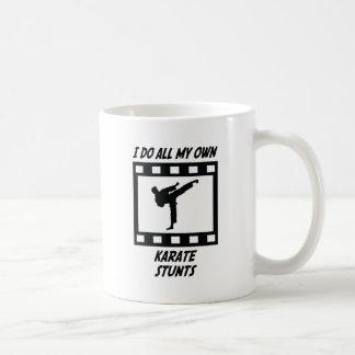 Karate Stunts Basic White Mug
