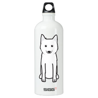 Karelo-Finnish Laika Dog Cartoon Water Bottle